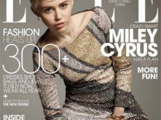 Miley Cyrus Comes In Like A Disco Ball