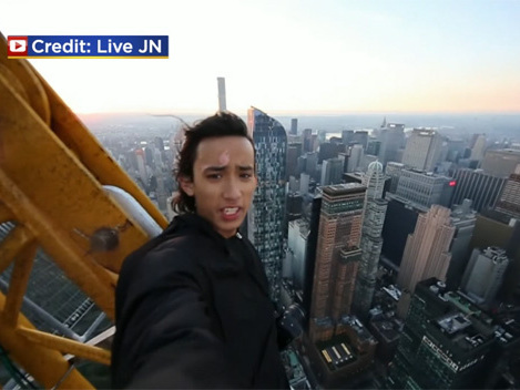 Teen Climbing Buildings Again After Being Arrested For Climbing 1 WTC In 2014