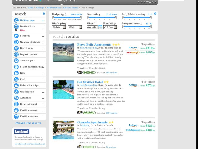 Ibiza Travel Packages