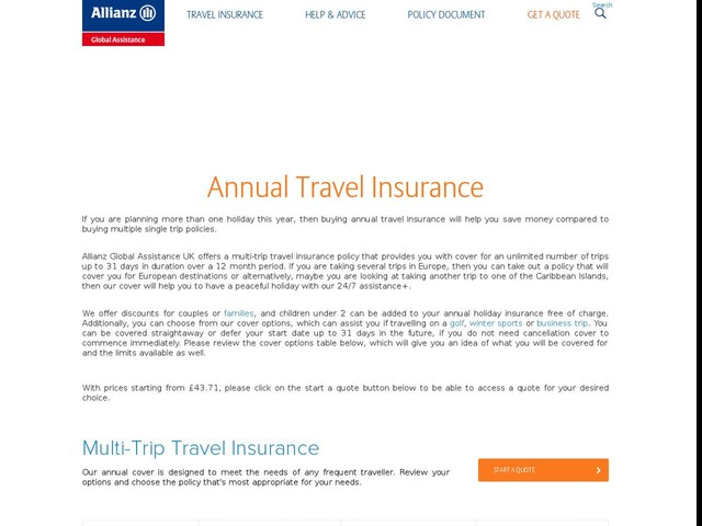 Allianz Travel Insurance Australia Promo Code