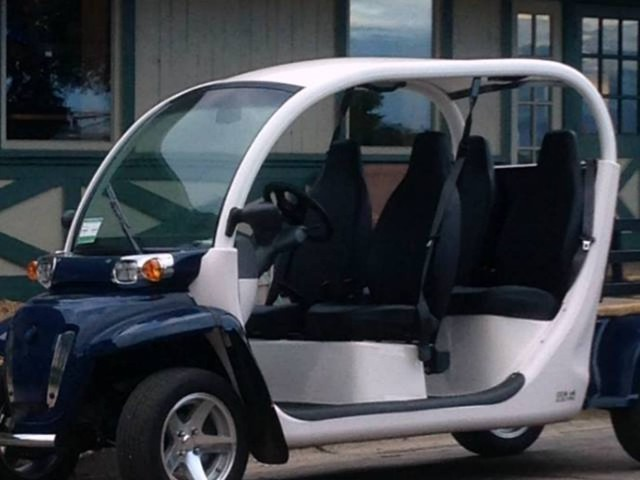The Future Of Driving May Be Electric Golf Carts