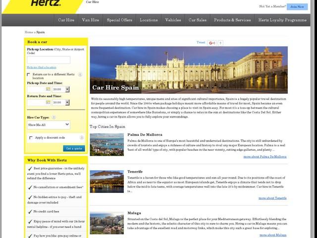 Hertz Car Hire Edinburgh Airport