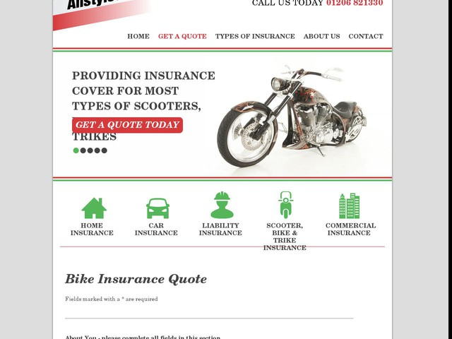 Motorcycle Insurance Quote Uk