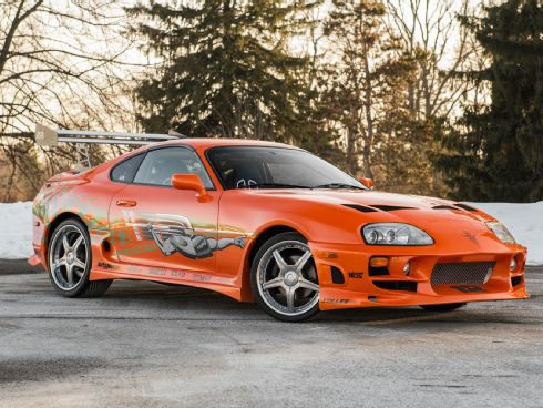 "1993 Toyota Supra From ""The Fast and the Furious"" Heads to Auction"