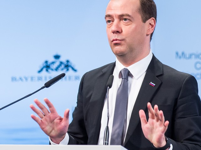 Russian Prime Minister Dmitry Medvedev Says West And Russia Heading For 'New Cold War'