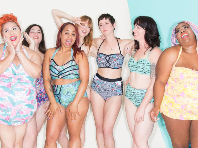 Modcloth's Latest Body-Positive Swim Shoot Is Its Best Yet
