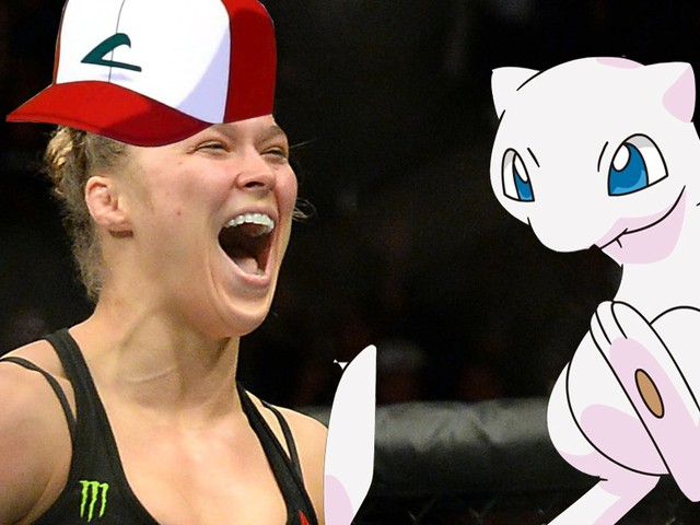 UFC champ Ronda Rousey is completely obsessed with Pokémon