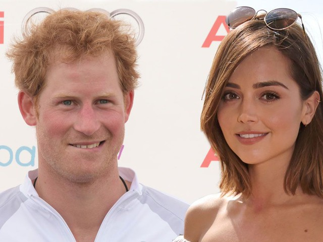 Prince Harry spotted flirting up a storm with Doctor Who star Jenna Coleman at polo bash