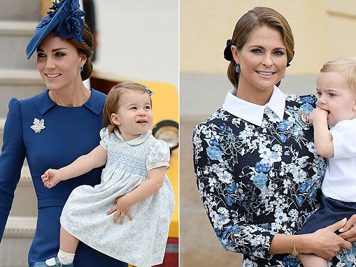 Princess Madeleine of Sweden wants a play date with George and Charlotte