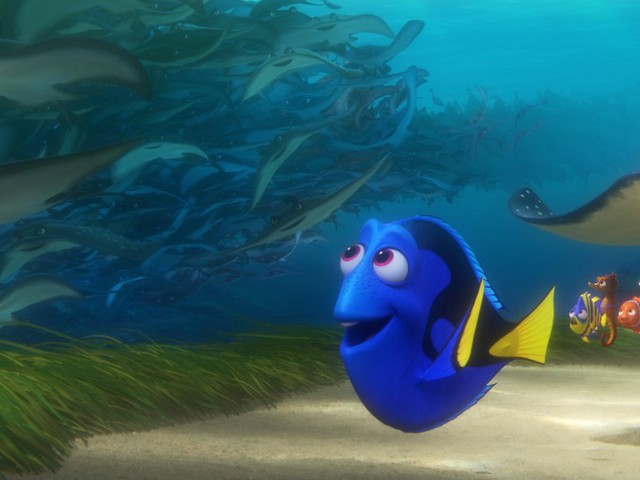 'Finding Dory' takes down newcomers 'The BFG' and 'Tarzan' at the box office