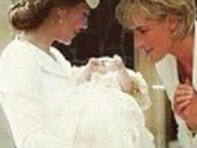 Cute or Creepy?! Split opinions over THIS viral photo of Princess Diana with Kate Middleton at Charlotte's christening