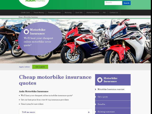 Motorcycle Insurance Compare Cheap Motorbike Insurance ...