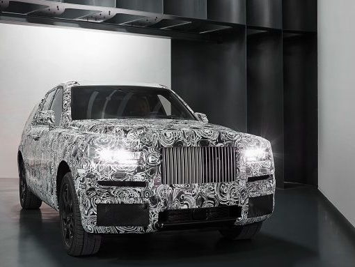 Rolls-Royce Releases First Images of Project Cullinan SUV in Its Real Body