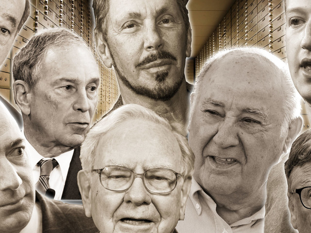 These 8 Men Have As Much Money As Half The World