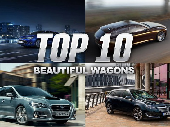 Top 10 Best-Looking Wagons in the World