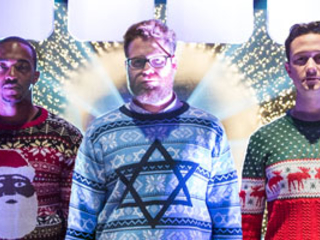 'The Night Before' Trailer: Seth Rogen and His Bros Come In Like a Wrecking Ball