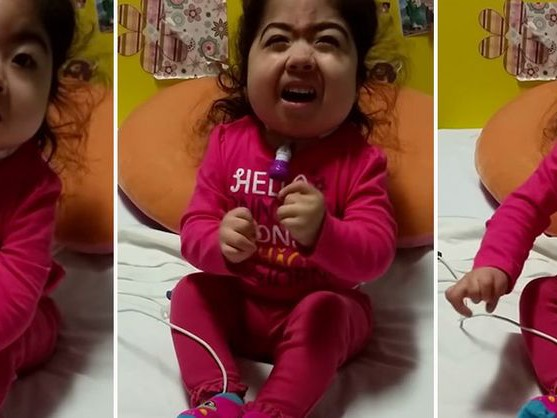 Miley Cyrus Wrecking Ball: Watch super-cute toddler lip sync to star's smash hit