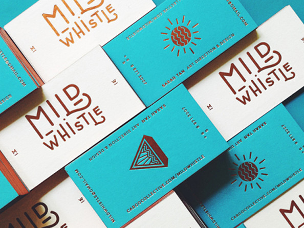 54 inspiring examples of letterpress business cards