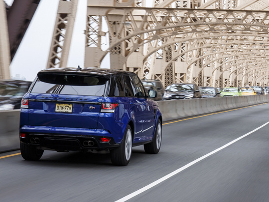 Range Rover Review Car And Driver