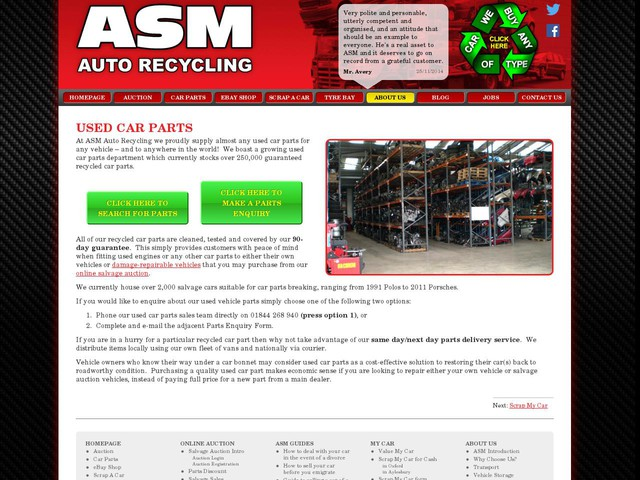 Asm Car Parts Aylesbury