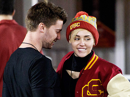 Miley Cyrus Can't Spell Boyfriend Patrick Schwarzenegger's Name