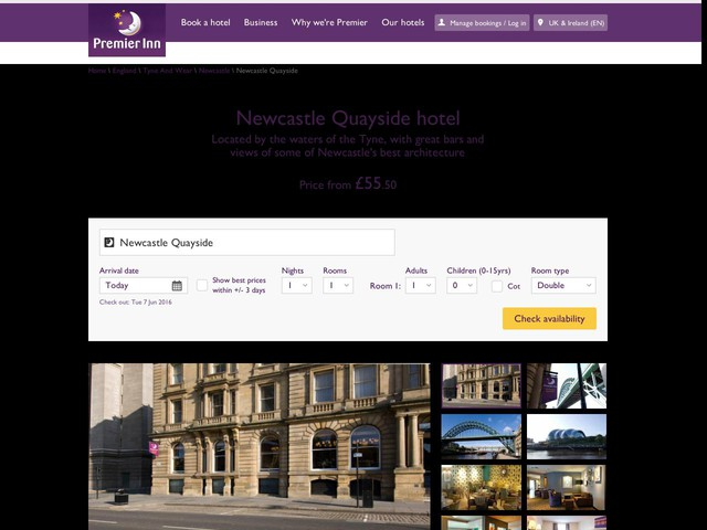 Chester City Hotels