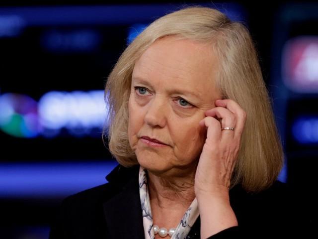 HP Enterprise CEO Meg Whitman got a $2.5 million pay cut last year (HPE)