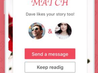 Story-Based Dating Apps - DearHeart is an Online Dating Platform Especially for Expressive People (TrendHunter.com)