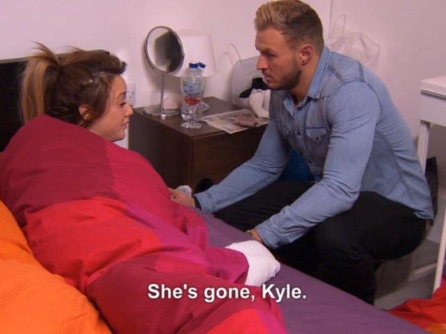 Geordie Shore Kyle Sneaks Girls Into Room