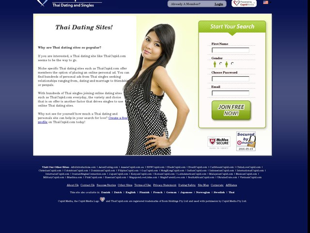 Thai dating websites