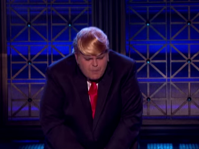 Josh Gad Performs 'I Touch Myself' While Dressed As Donald Trump