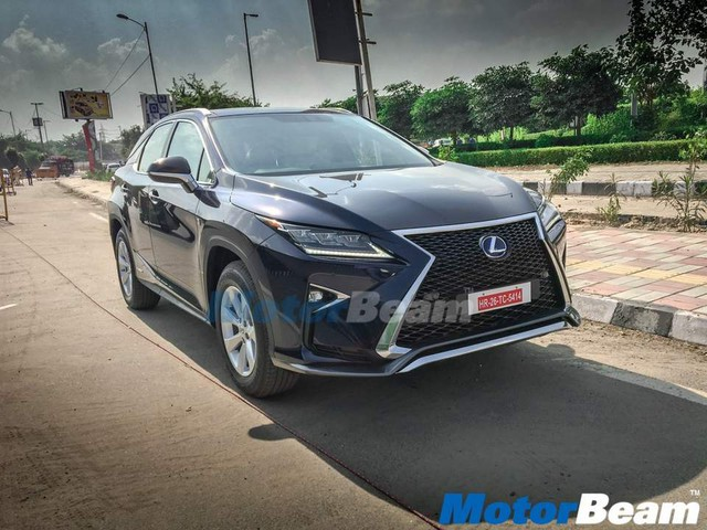 Lexus RX450H Hybrid SUV with temp no plates – India deliveries commenced?