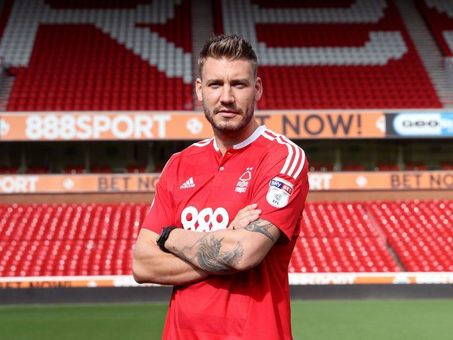 Nicklas Bendtner scores first goal in England since 2014 - and creates the perfect football stat