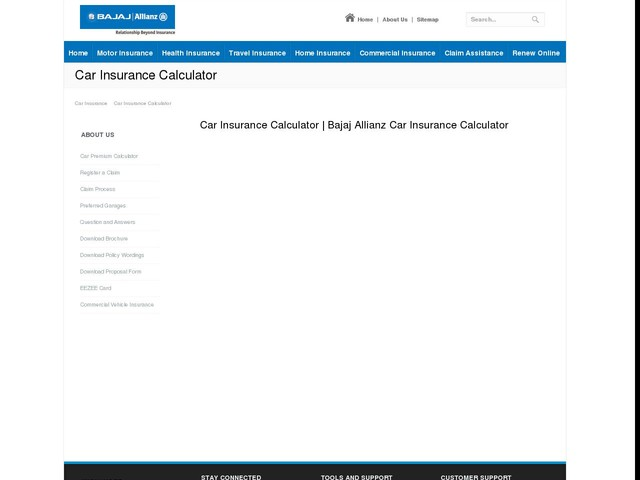 Bajaj Allianz Car Insurance Renewal Online
