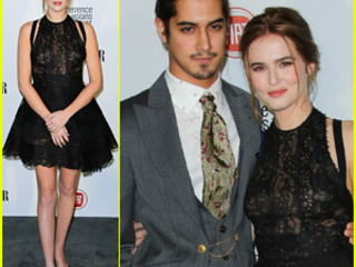Zoey Deutch & Avan Jogia Couple Up for Vanity Fair's Young Hollywood Party 2015