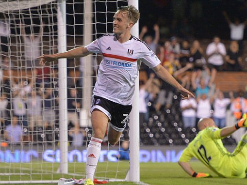Fulham 2-1 Middlesbrough (AET): Lasse Vigen Christensen goal in extra-time takes Slavisa Jokanovic's side through to third round of EFL Cup