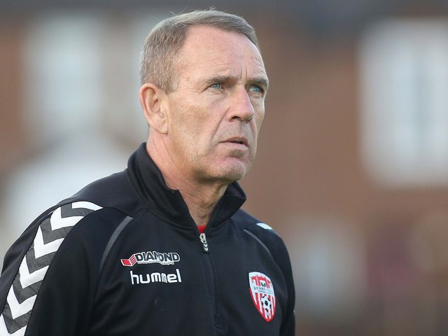Derry City boss Kenny Shiels eyeing pole position in race for Europe ahead of Shamrock Rovers clash