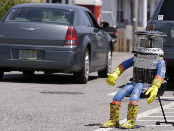 Hitch-Hiking Robot Who Relied On Strangers' Kindness Was 'Damaged Beyond Repair' In Philadelphia