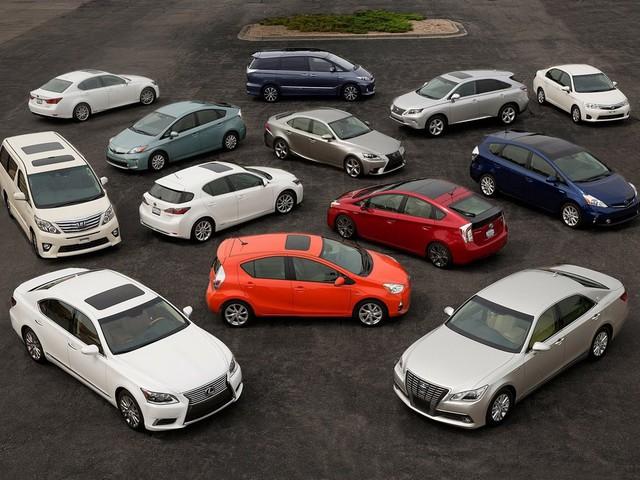 Toyota hybrid car sales cross 80 lakh units