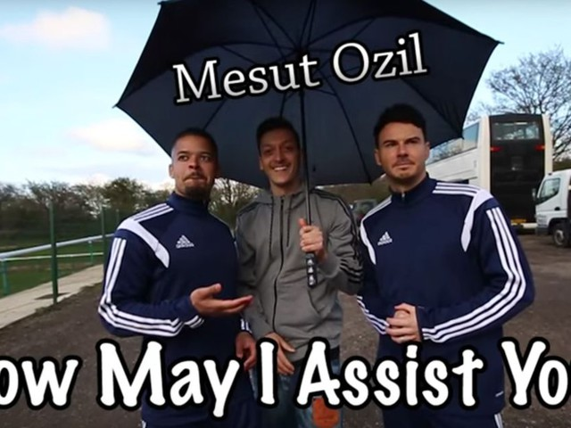 Mesut Ozil Shows What He Can Do