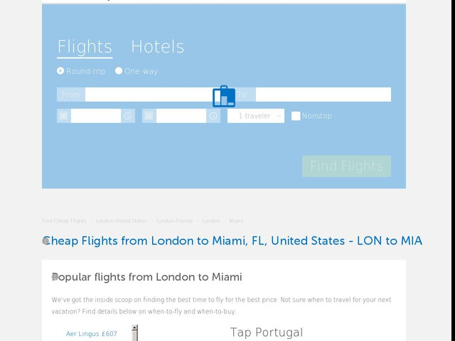 Image Result For London To Miami
