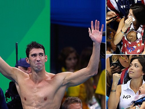 Michael Phelps wins gold in his last Olympic race in the Men's 4x100m relay