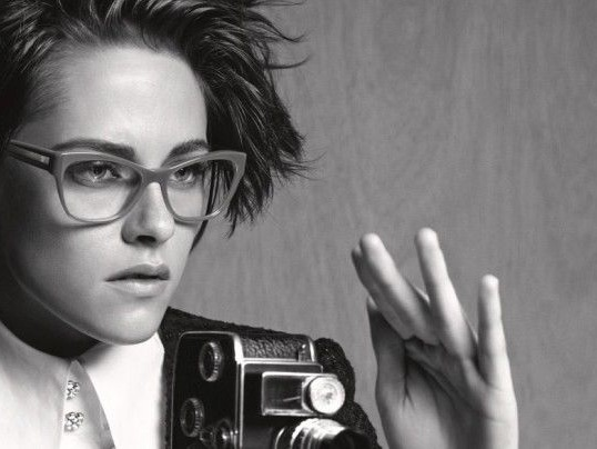 Celeb Eyewear Marketing - This Kristen Stewart Fashion Ad Features Chanel's New Eyewear Collection (TrendHunter.com)