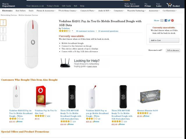 best broadband dongle deals uk