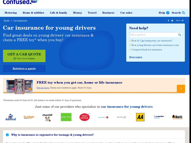 Month Provisional Car Insurance