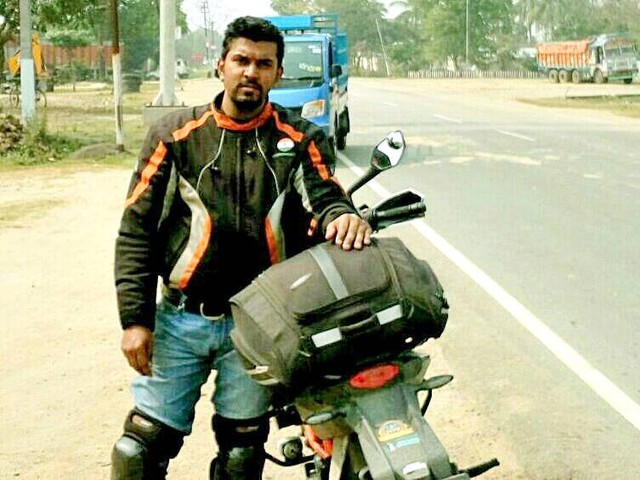 KTM Duke 390 rider fastest to do East to West journey in India