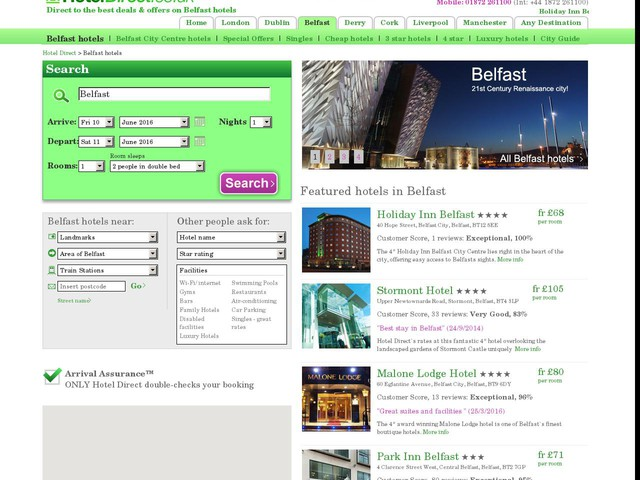 Cheap Hotels Belfast International Airport
