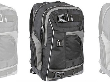 ful Apex 18″ Backpack w/ Side-Entry Laptop Compartment $19.99 (Reg. $79.99) + Free Shipping!