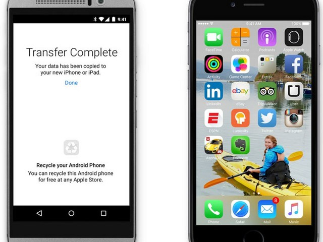'Move to iOS' App Allows for No Hassle Android-to-iOS Data Transfer [iOS Blog]