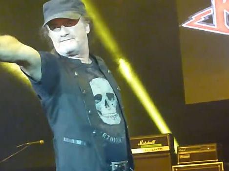 Video: KROKUS Performs On 'Monsters Of Rock' Cruise